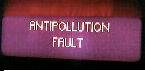 Antipollution fault